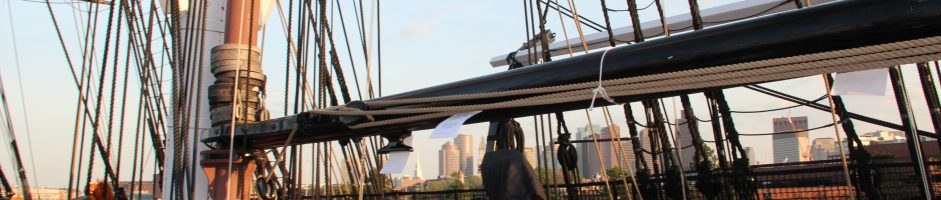 Rehearsal aboard Old Ironsides